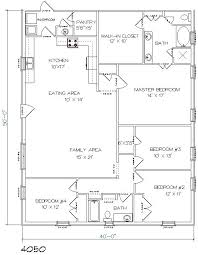 metal building house plans and 4 bed 2 bath sq ft 27 metal building home plans