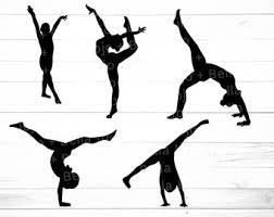 Gymnast Svg Etsy
