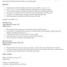 Medical Coder Resume Medical Coding Resume Samples Beautiful Awesome Medical Coder Resume