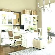Dual desks home office Shaped Unique Dual Desk Home Office Throughout Tzadik Info Skubiinfo Home Lovely Dual Desk Home Office On Desks Traditional With Black