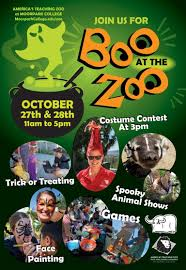 there will also be animal shows costume a parade at 3 p m face painting and not so y decorations throughout the zoo