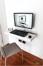 floating wall desk ikea computer desk wall mounted unique minimalist wall mounted floating desk ikea