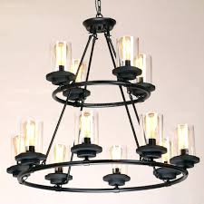large candle chandelier small round pillar wrought iron zoom extra full size