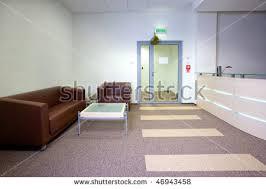 office reception area. modern office interior reception area a