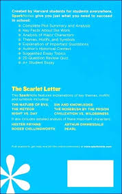 sparknotes the scarlet letter letter the scarlet letter study  sparknotes the scarlet letter the scarlet letter scarlet letter literature guide additional photo inside page s sparknotes the scarlet letter