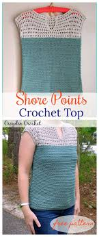 Free Crochet Top Patterns Interesting Decorating