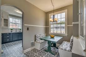 breakfast room lighting. Cottage Dining Room With Pendant Light, Nuvo Lighting Decker 5 Light Chandelier, Carpet, Breakfast C