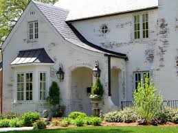 painting brick whitePainted Brick House Wall  Home Ideas Collection  Fresh Painted