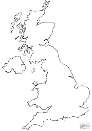 blank map united kingdom. Contemporary Map Click The United Kingdom Blank Outline Map Coloring Pages To View Printable  Version Or Color It Online Compatible With IPad And Android Tablets Intended M