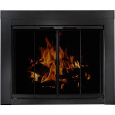 the peachtree masonry fireplace door