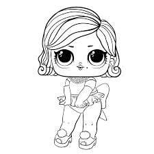 Lol staat voor 'lil outrageous littles'. Lol Surprise Omg Pink Baby Lol Omg Coloring Pages Novocom Top