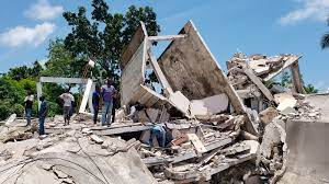 7.2 magnitude earthquake hits near Haiti