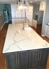 images of quartz countertops with oak cabinets kitchen room scene