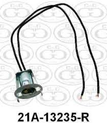ford wiring 32 56 car and truck list cg ford parts replacement type park light socket and wires