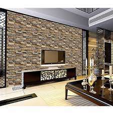 Retro 3D Effect Wallpaper Natural Brick ...