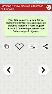 Citations Triste Proverbes For Android Apk Download