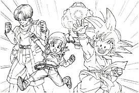 Dragon Ball Z Disegni Per Bambini Da Colorare