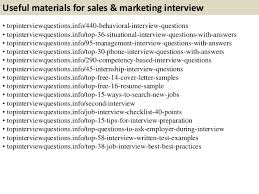 Common Marketing Interview Questions Top 10 Sales Marketing Interview Questions With Answers