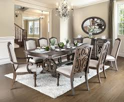 furniture of america dining sets. Furniture Of America CM3150T Rustic Natural Dining Set | ARCADIA 7PC Table With Extension Sets U