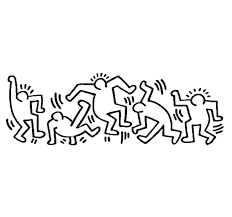 Keith Haring Hip Hop Coloring Book Compiled By Jamee Schleifer In