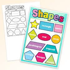 Basic Shapes Smart Chart Top Notch Teacher Products Inc