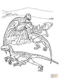 Sfoglia 20 Dinosauri Carnivori Da Colorare Gratis Aestelzer