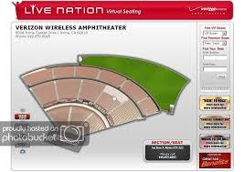 Virginia Beach Amphitheater Seating Chart Image Wallpaper