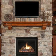 Pearl Mantels Abingdon Fireplace Mantel Shelf with Secret Drawer ...