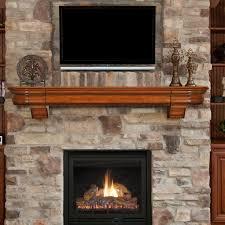 Pearl Mantels Abingdon Fireplace Mantel Shelf with Secret Drawer ...