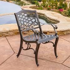 Furniture Elegant Cast Iron Patio Furniture For Outdoor Living