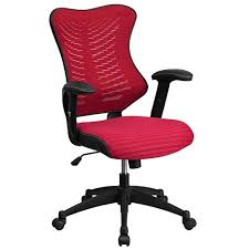colorful office chair. Interesting Office Flash Furniture High Back Designer Burgundy Mesh Executive Swivel Chair  With Adjustable Arms Throughout Colorful Office B