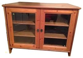 tv stand glass doors top ikea leksvik solid pine tv cabinet with glass doors