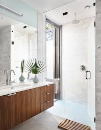 the bathroom features an indoor outdoor shower the wetstyle sink is outfitted with a