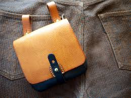 herz drive by custom leather pouch 1