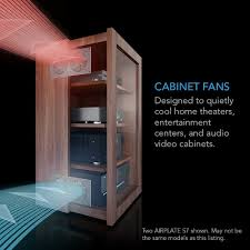 Home Theater Cabinet Fan Amazoncom Ac Infinity Airplate S7 Quiet Cooling Fan System 12