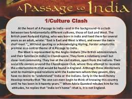 the characters and themes of a passage to  the main themes 21 1 culture clash at the heart of a passage to