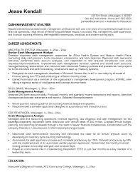 ... Resume Example, Business Analyst Resume Samples Jk Cash Management  Analyst Entry Level Budget Analyst Resume ...