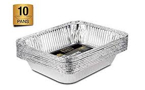 <b>Large</b> Disposable Aluminium <b>Foil</b> Trays Containers For Baking ...