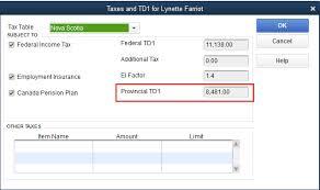 Estimate Payroll Deductions Nova Scotia Payroll Deductions Calculator