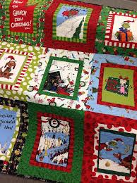 42 best Grinch quilts images on Pinterest | The grinch, Blankets ... & Made-To-Order Grinch Christmas Quilt Dr. Adamdwight.com