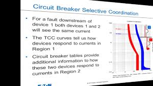 Type 2 Coordination Chart For Star Delta Starter L T Circuit Breaker Selective Coordination Tables