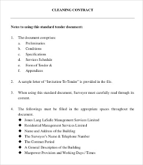 sample cleaning contract agreement how to write a business contract template 12 business contract