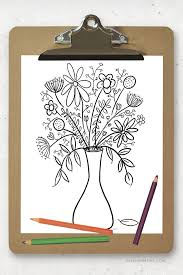 Download them or print online! Free Printable Coloring Page Floral Bouquet Live Laugh Rowe