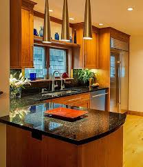 Black Granite Countertops With Tile Backsplash Best 48 Delightful Granite Countertop Colors With Names And Pictures