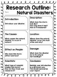 report outline natural disasters by kmwhyte s kreations tpt report outline natural disasters