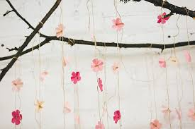 Cherry Blossom Backdrop Diy Paper Cherry Blossom Backdrop Ruffled