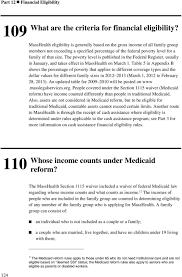 Masshealth Eligibility Income Chart Part 12 Financial Eligibility Pdf