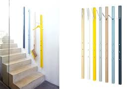 vertical coat rack wall mounted storage by hanging