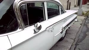 1960 Chevy Impala Show Car For Sale~Pearl White~3 on the Tree ...