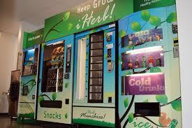 How To Break In A Vending Machine Beauteous Break Room Vending Machines I IHerb Office Photo Glassdoor